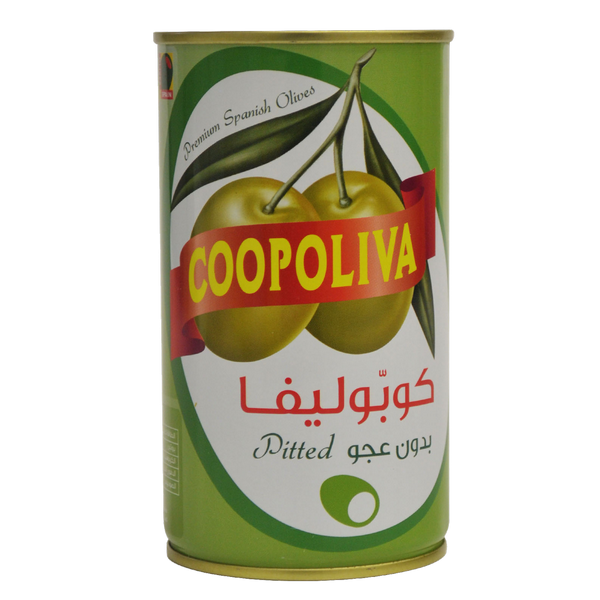 Coopoliva Pitted Green Olives